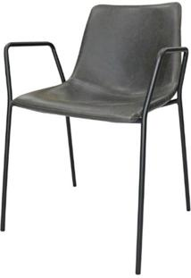 Cadeira Flora C/ Bracos Cinza 79 Cm (Alt) - 47413 - Sun House