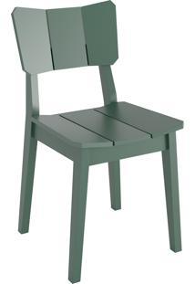 Cadeira Uma - Verde Escuro