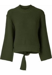 Nk Pullover Manual Lucid De Tricô - Verde