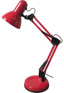 Luminária Urban Loft Metal Pixar Vermelha