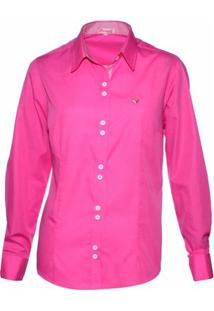 Camisa Pimenta Rosada Lorraine - Feminino-Rosa