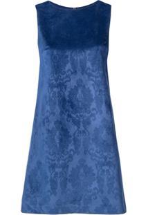 Alice+Olivia Vestido Estampado - Azul