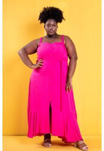 Vestido Yasmin Pink Plus Size