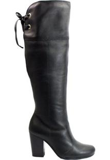 Bota Over The Knee Dakota Magnum B8704 - Feminino-Preto