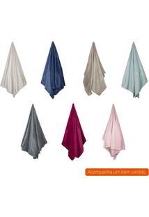 Cobertor Casal Flannel I Colorido 220X180 Cm