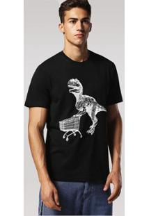 Camiseta Diesel T-Joe-Rp Masculina - Masculino-Preto