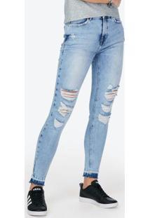 8a288440b ... Calça Cintura Alta Jeans Skinny