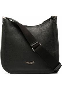 Kate Spade Roulette Medium Messenger Bag - Preto