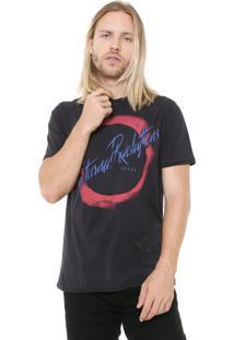 Camiseta John John Rg Nocturnal Preta