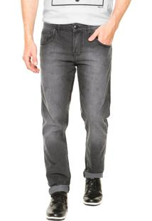 Calça Jeans Fiveblu Reta Preta