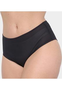 Calcinha Marcyn Dry Air Alta Plus Size - Feminino