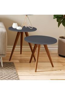 Mesa De Canto 400 Retrô – Be Mobiliário - Espresso
