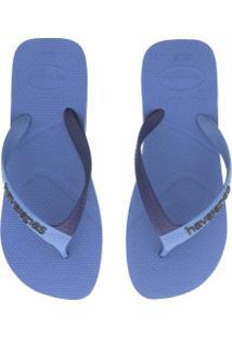 Chinelo Havaianas Casual - Masculino - Azul/Azul Esc