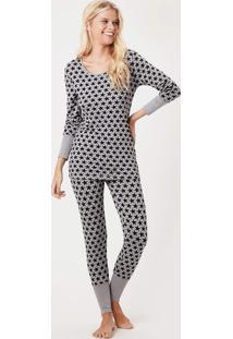 Pijama Joge Longo Multicolorido