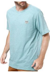 Camiseta Manga Curta Masculina Vels Verde Gg