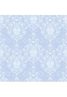 Papel De Parde Sunset Adesivos Arabesco Tons De Azul Claro - Rolo 6,00 0,50 M
