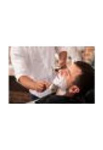 Painel Adesivo De Parede - Barbearia - Barber Shop - 1114Pnm