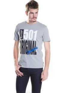 Camiseta Levis 501 Graphic - Masculino