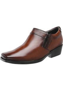Sapato Abotinado Walk Way West 5011 Conhaque