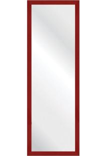 Espelho Savana Vermelho 37X107Cm