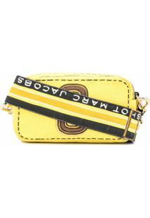 Marc Jacobs Bolsa Transversal - Amarelo