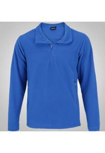 Blusa Fleece Nord Outdoor Basic - Masculina - Azul