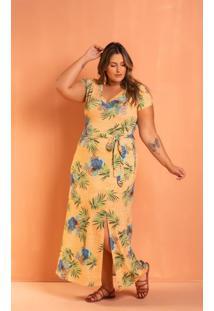 Vestido Longo Lindsay Flores Plus Size