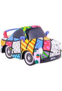 Escultura Romero Britto 3D Carro Sport Trevisan Concept