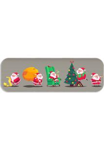 Passadeira Love Decor Multi Papai Noel Cute Único