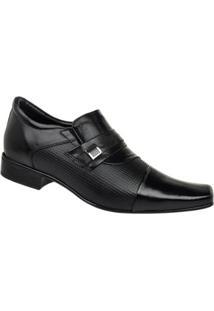 Sapato Social Constantino Masculino - Masculino-Preto