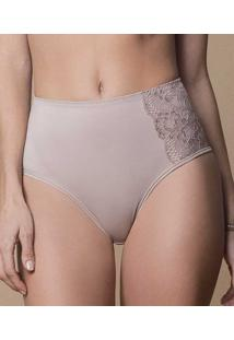 Calça Alta Modeladora Enjoy Lucitex Elegância Shapewear (4829) Cetinete Power, Nude, G