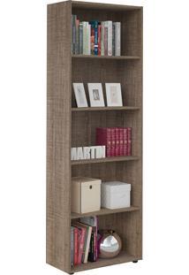 Estante Multy Para Livros E Objetos Canela Com 4 Prateleiras E 1 Nicho - Artely