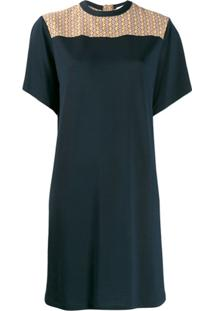 Chloé Vestido Evasê - Azul