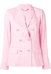 Michael Michael Kors Double-Breasted Blazer - Rosa