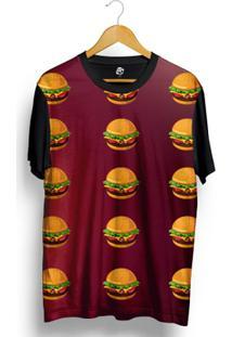 Camiseta Bsc Hamburger Full Print - Masculino