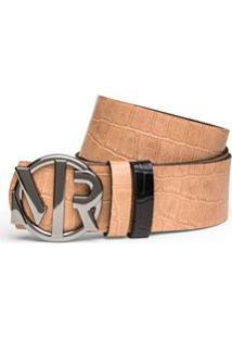 Cinto Cintura Quadril Medio Dupla Face Amarelo/Preto