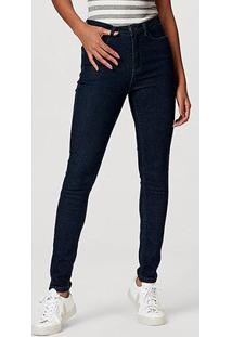 Calça Jeans Hering Feminina - Feminino-Azul