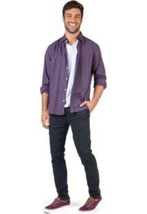 Calça De Tecido Chino Flex Taco Masculina - Masculino