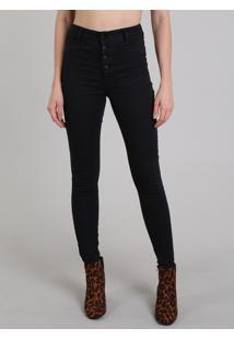301c79652 R$ 119,99. CEA Calça Jeans Feminina Skinny Com Botões Preto