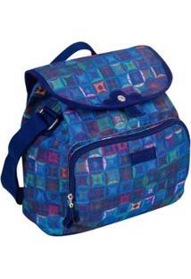 Bolsa Sestini Com Tampa Dream 16T - Feminino-Azul