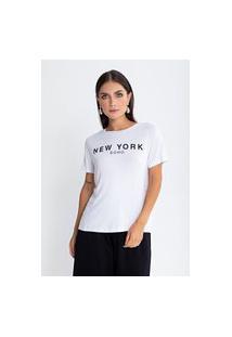 Camiseta Preview New York Branco