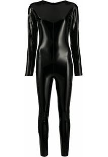 Alchemy Body Slim Com Gola V - Preto