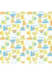 Papel De Parede Quartinhos Adesivo Infantil Carrinhos 2,70X0,57M - Tricae