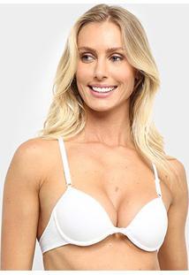 Sutiã Nadador Marcyn Com Bojo Essence - Feminino-Branco