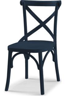 Cadeiras Para Cozinha X 87 Cm 901 Azul Noite - Maxima