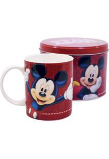 Caneca Minas De Presentes Mickey Vermelha