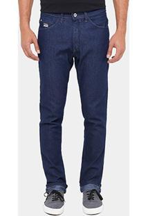 Calça Jeans Slim Fatal Tradicional Masculina - Masculino