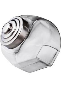 Baleiro Retro- Inox & Incolor- 2,4L- Euro Homewaeuro Homeware