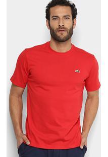 Camiseta Lacoste Casual Masculina - Masculino