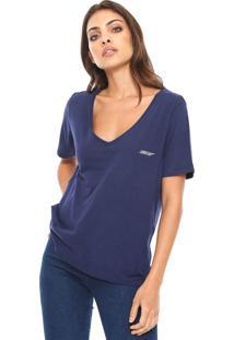 Camiseta Ellus Cotton Gaze Azul